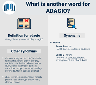 adagio, synonym adagio, another word for adagio, words like adagio, thesaurus adagio