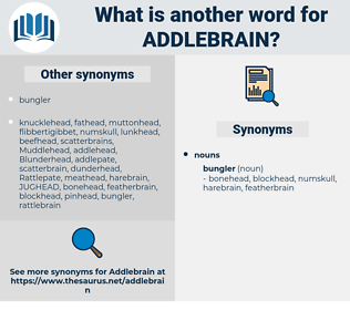 addlebrain, synonym addlebrain, another word for addlebrain, words like addlebrain, thesaurus addlebrain