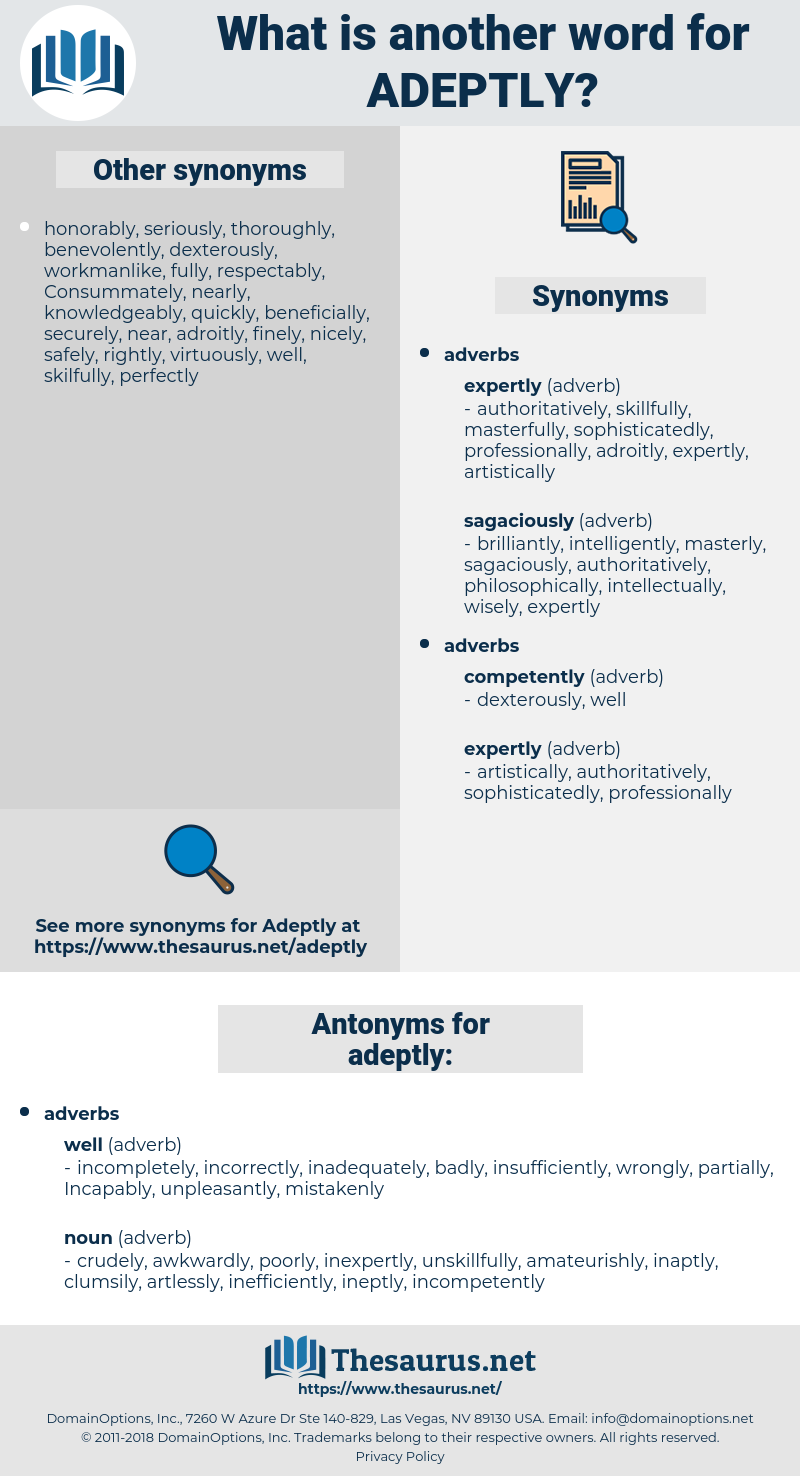 adeptly, synonym adeptly, another word for adeptly, words like adeptly, thesaurus adeptly
