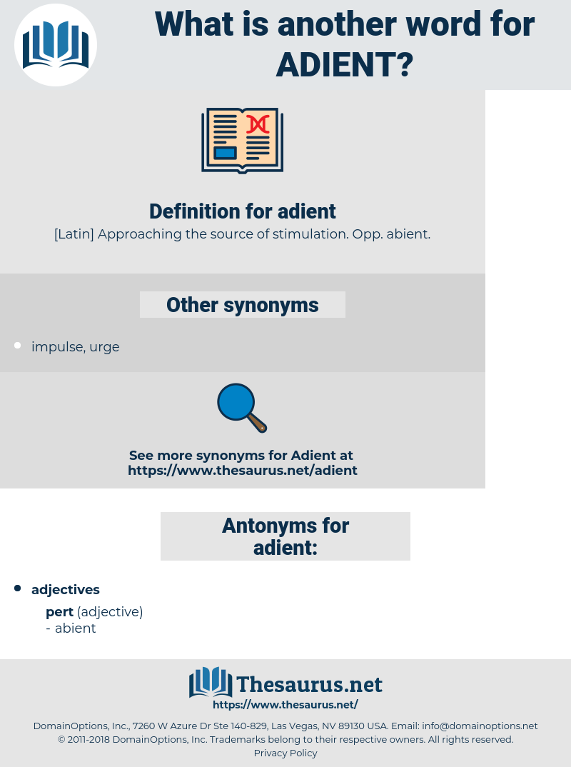 adient, synonym adient, another word for adient, words like adient, thesaurus adient