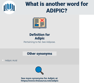 Adipic, synonym Adipic, another word for Adipic, words like Adipic, thesaurus Adipic