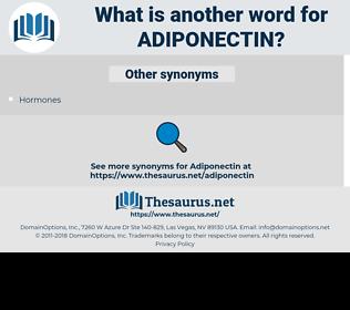 adiponectin, synonym adiponectin, another word for adiponectin, words like adiponectin, thesaurus adiponectin