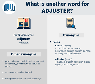 adjuster, synonym adjuster, another word for adjuster, words like adjuster, thesaurus adjuster