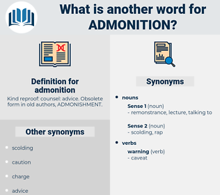 admonition, synonym admonition, another word for admonition, words like admonition, thesaurus admonition