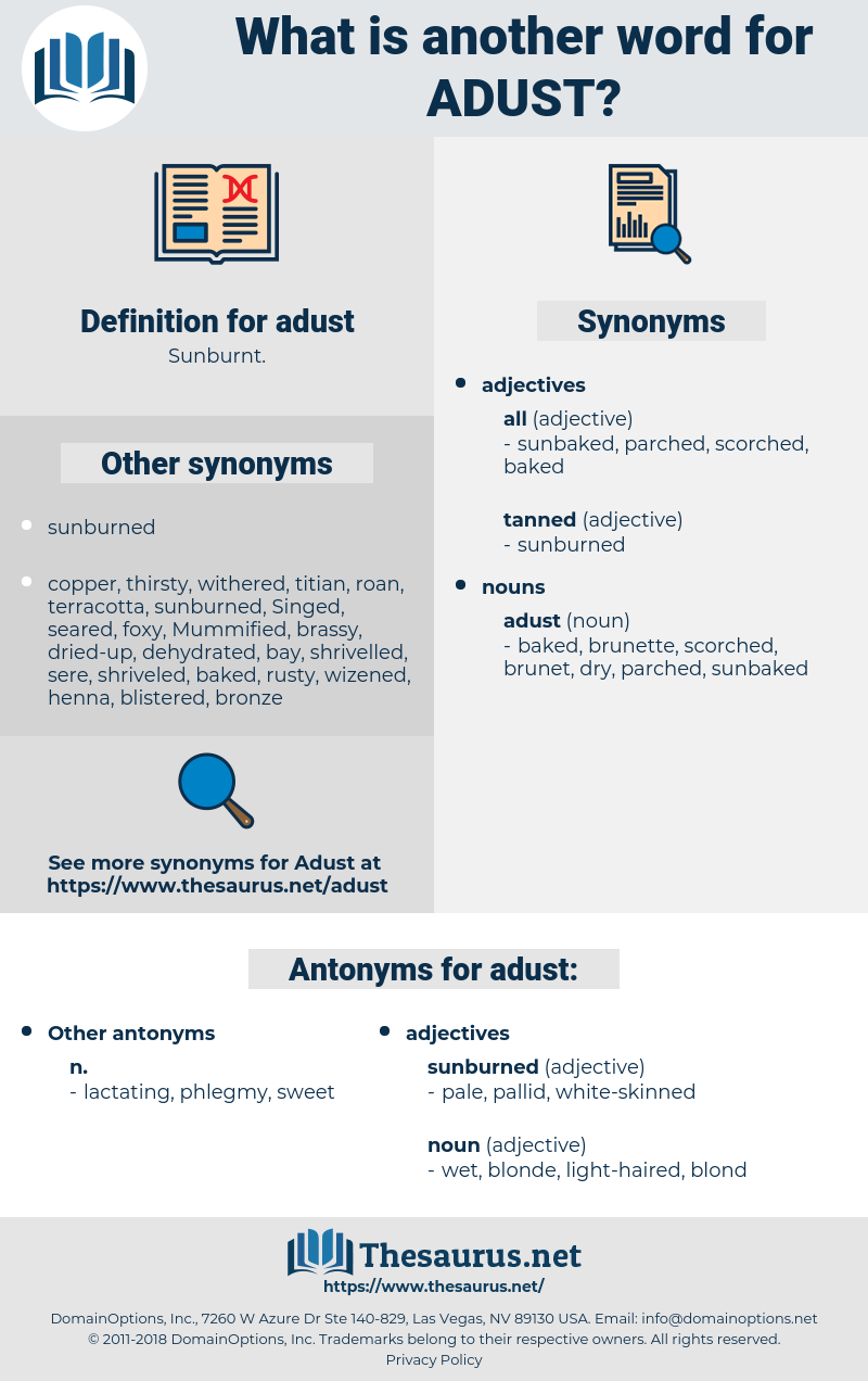 adust, synonym adust, another word for adust, words like adust, thesaurus adust