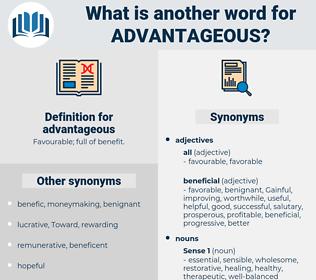 advantageous, synonym advantageous, another word for advantageous, words like advantageous, thesaurus advantageous