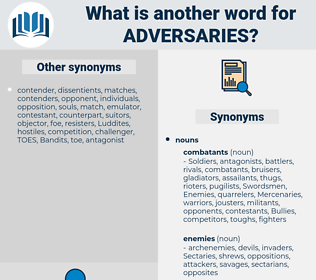 Adversaries, synonym Adversaries, another word for Adversaries, words like Adversaries, thesaurus Adversaries