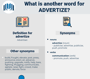 advertize, synonym advertize, another word for advertize, words like advertize, thesaurus advertize