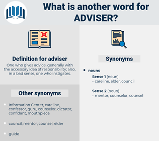 adviser, synonym adviser, another word for adviser, words like adviser, thesaurus adviser