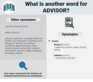 advisor, synonym advisor, another word for advisor, words like advisor, thesaurus advisor