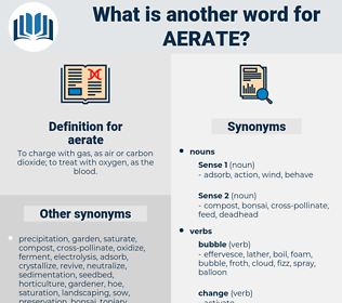 aerate, synonym aerate, another word for aerate, words like aerate, thesaurus aerate