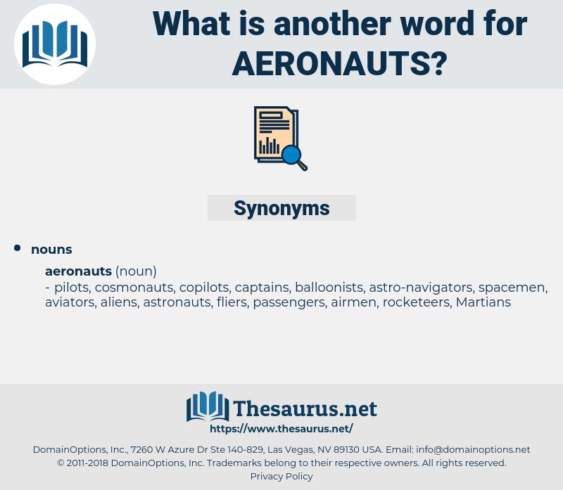aeronauts, synonym aeronauts, another word for aeronauts, words like aeronauts, thesaurus aeronauts
