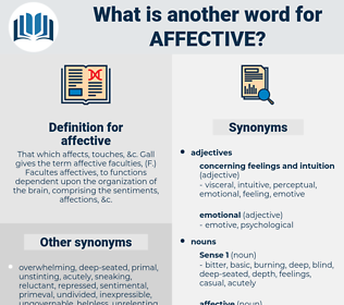 affective, synonym affective, another word for affective, words like affective, thesaurus affective