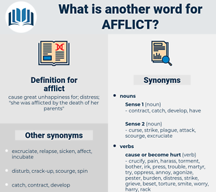 afflict, synonym afflict, another word for afflict, words like afflict, thesaurus afflict