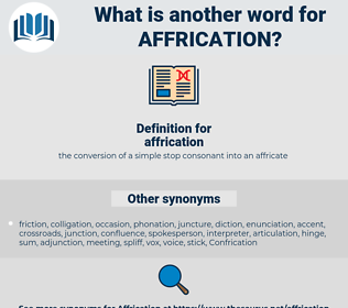 affrication, synonym affrication, another word for affrication, words like affrication, thesaurus affrication