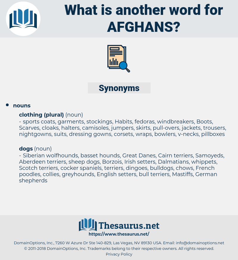Afghans, synonym Afghans, another word for Afghans, words like Afghans, thesaurus Afghans