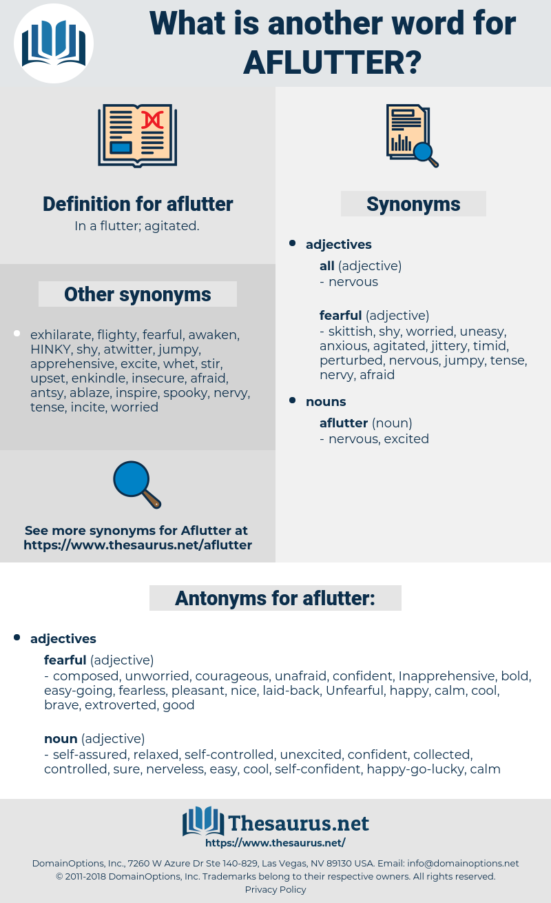 aflutter, synonym aflutter, another word for aflutter, words like aflutter, thesaurus aflutter
