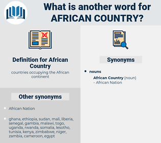 African Country, synonym African Country, another word for African Country, words like African Country, thesaurus African Country