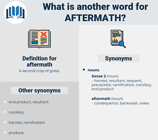 aftermath, synonym aftermath, another word for aftermath, words like aftermath, thesaurus aftermath