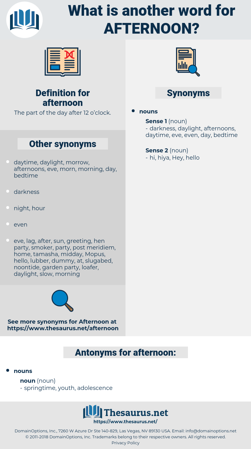 afternoon, synonym afternoon, another word for afternoon, words like afternoon, thesaurus afternoon