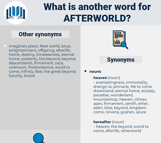 afterworld, synonym afterworld, another word for afterworld, words like afterworld, thesaurus afterworld