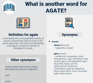 agate, synonym agate, another word for agate, words like agate, thesaurus agate