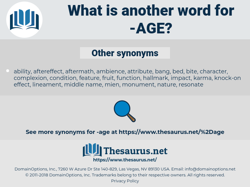 age, synonym age, another word for age, words like age, thesaurus age