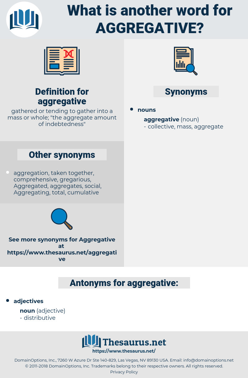 aggregative, synonym aggregative, another word for aggregative, words like aggregative, thesaurus aggregative