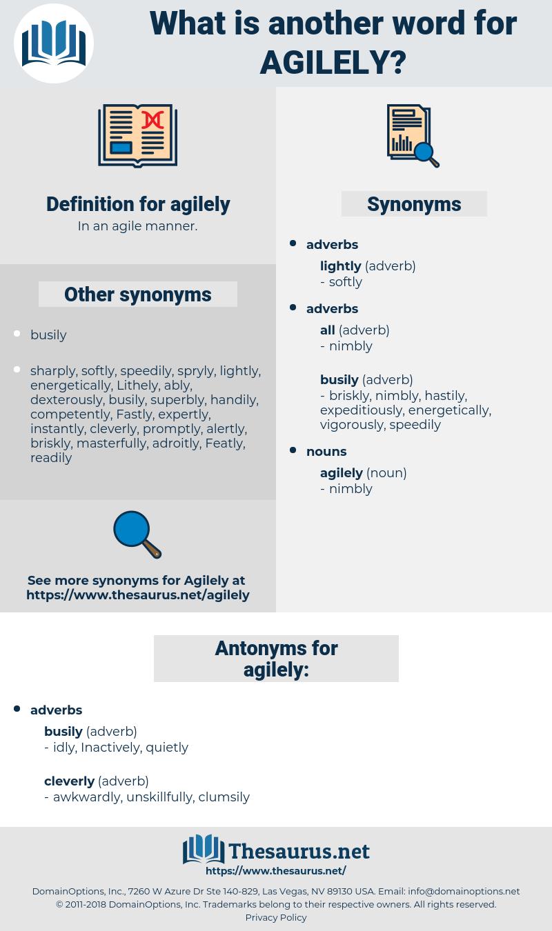 agilely, synonym agilely, another word for agilely, words like agilely, thesaurus agilely