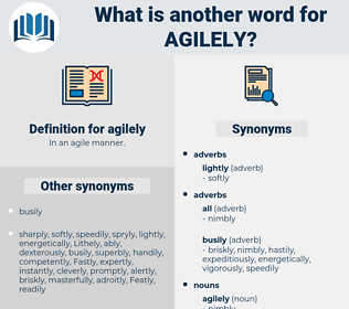 agilely, synonym agilely, another word for agilely, words like agilely, thesaurus agilely