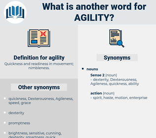 agility, synonym agility, another word for agility, words like agility, thesaurus agility