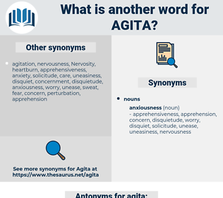 agita, synonym agita, another word for agita, words like agita, thesaurus agita