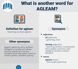 agleam, synonym agleam, another word for agleam, words like agleam, thesaurus agleam