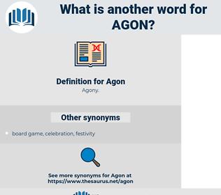 Agon, synonym Agon, another word for Agon, words like Agon, thesaurus Agon