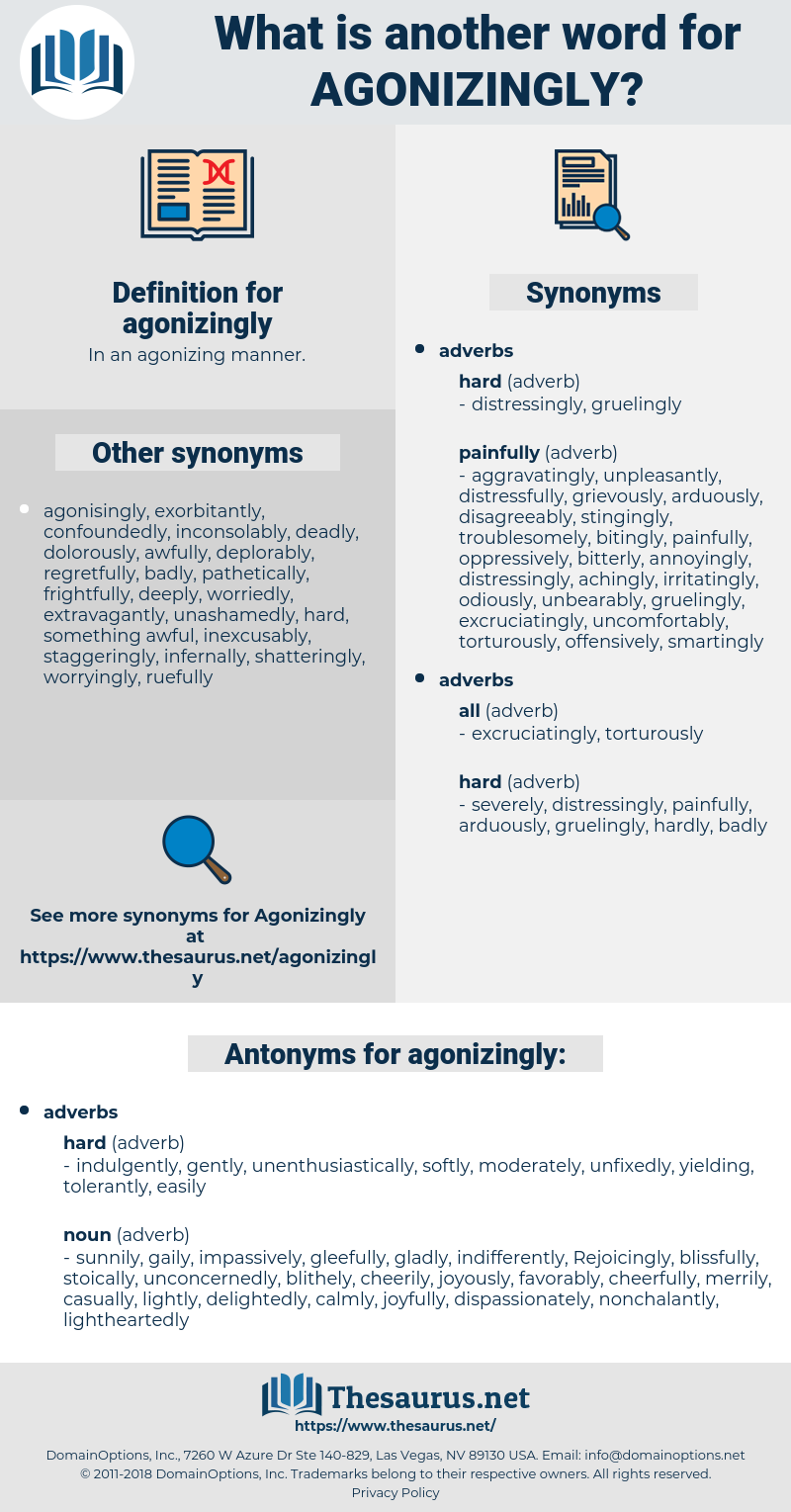 agonizingly, synonym agonizingly, another word for agonizingly, words like agonizingly, thesaurus agonizingly