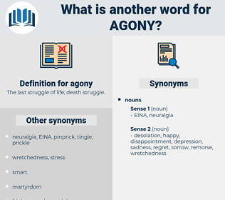 agony, synonym agony, another word for agony, words like agony, thesaurus agony