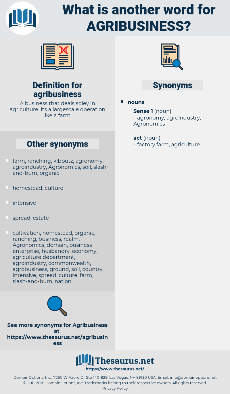agribusiness, synonym agribusiness, another word for agribusiness, words like agribusiness, thesaurus agribusiness