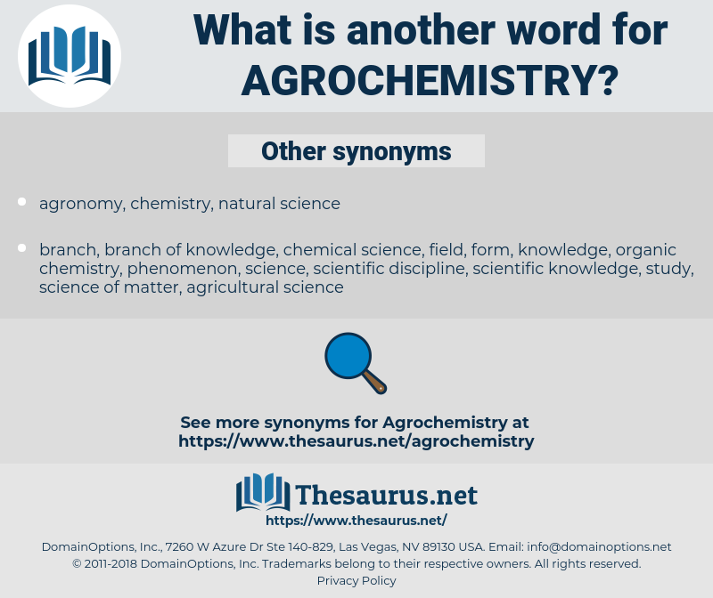 agrochemistry, synonym agrochemistry, another word for agrochemistry, words like agrochemistry, thesaurus agrochemistry