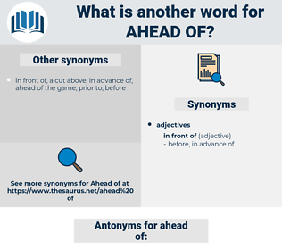ahead of, synonym ahead of, another word for ahead of, words like ahead of, thesaurus ahead of