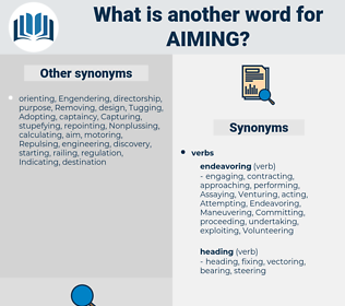 Aiming, synonym Aiming, another word for Aiming, words like Aiming, thesaurus Aiming