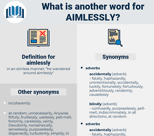 aimlessly, synonym aimlessly, another word for aimlessly, words like aimlessly, thesaurus aimlessly