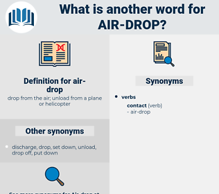 air-drop, synonym air-drop, another word for air-drop, words like air-drop, thesaurus air-drop