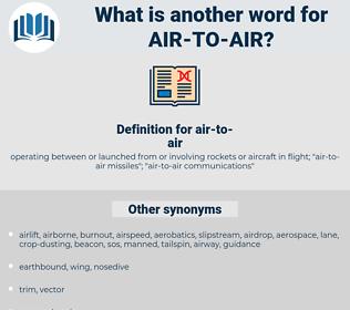 air-to-air, synonym air-to-air, another word for air-to-air, words like air-to-air, thesaurus air-to-air