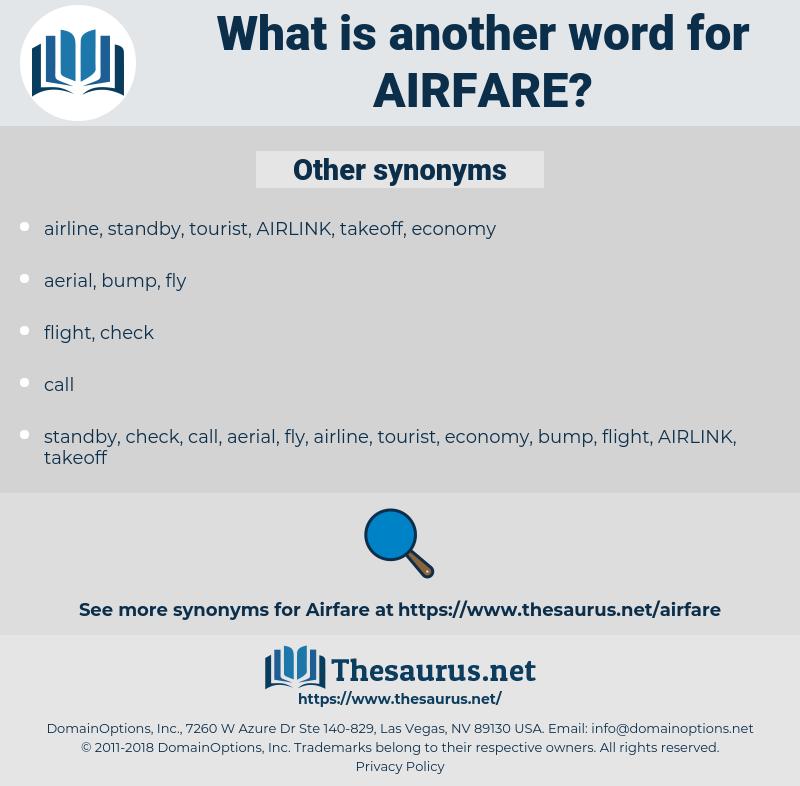 airfare, synonym airfare, another word for airfare, words like airfare, thesaurus airfare