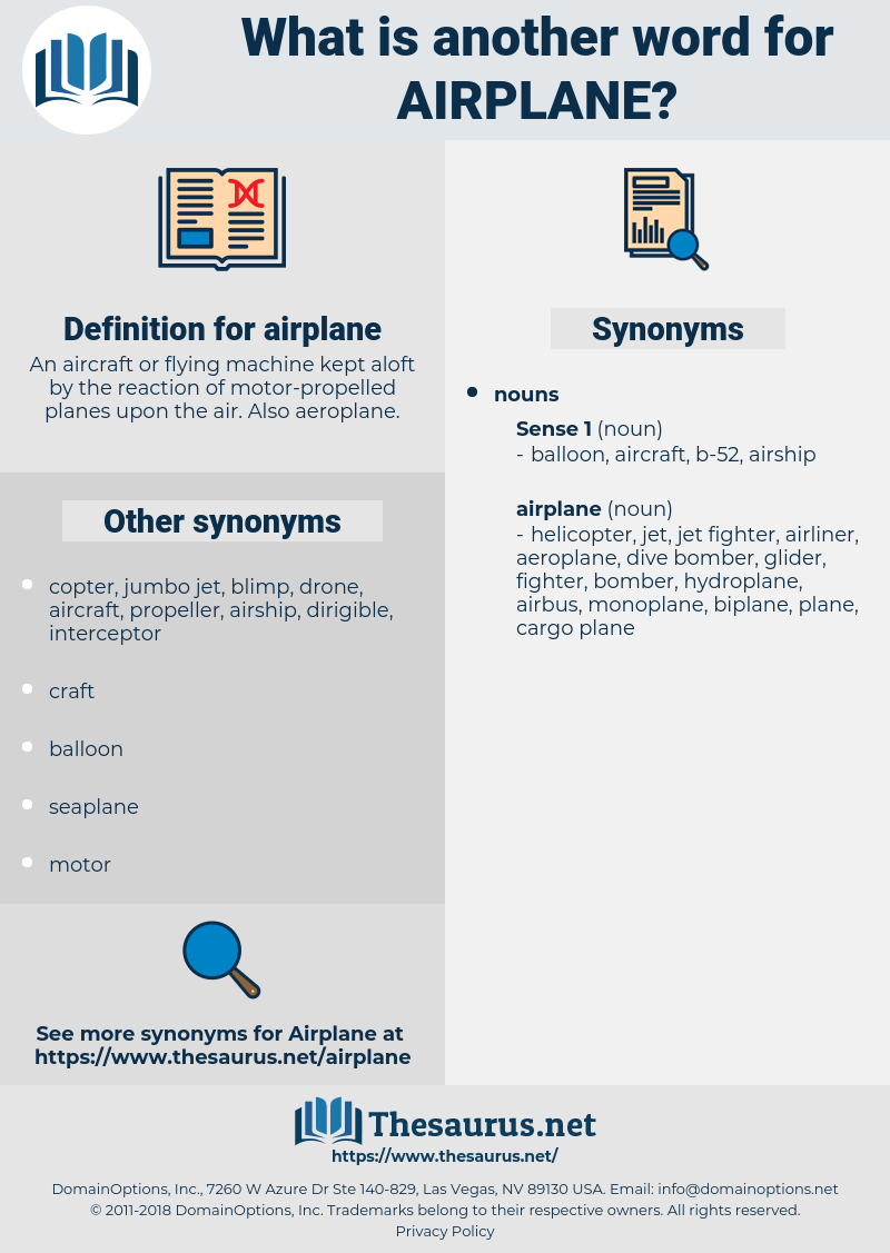 airplane, synonym airplane, another word for airplane, words like airplane, thesaurus airplane