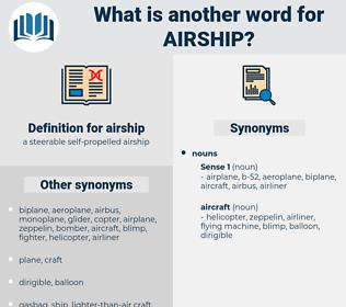 airship, synonym airship, another word for airship, words like airship, thesaurus airship