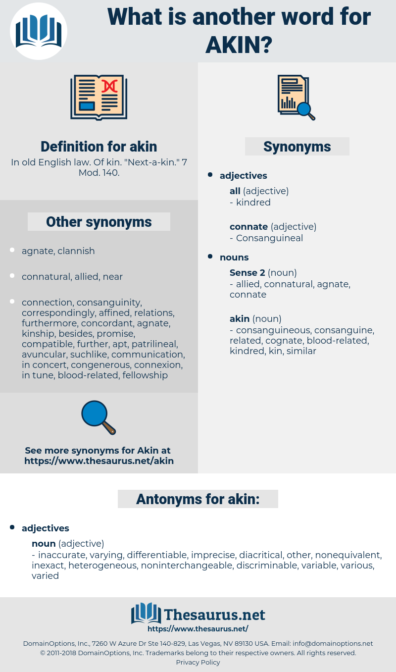akin, synonym akin, another word for akin, words like akin, thesaurus akin