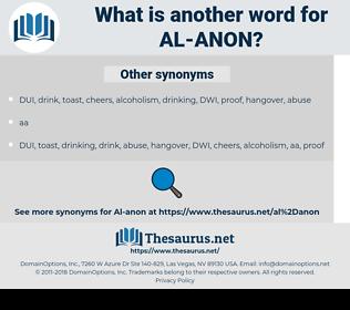 Al-Anon, synonym Al-Anon, another word for Al-Anon, words like Al-Anon, thesaurus Al-Anon