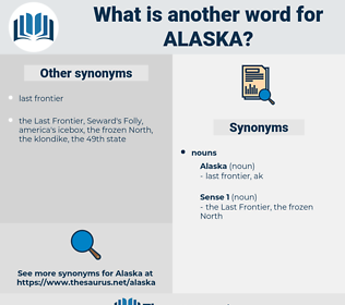 alaska, synonym alaska, another word for alaska, words like alaska, thesaurus alaska