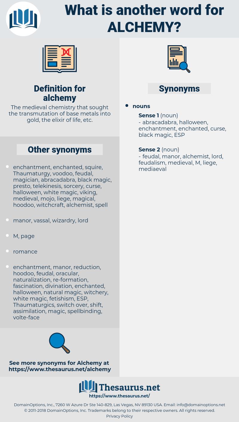 alchemy, synonym alchemy, another word for alchemy, words like alchemy, thesaurus alchemy